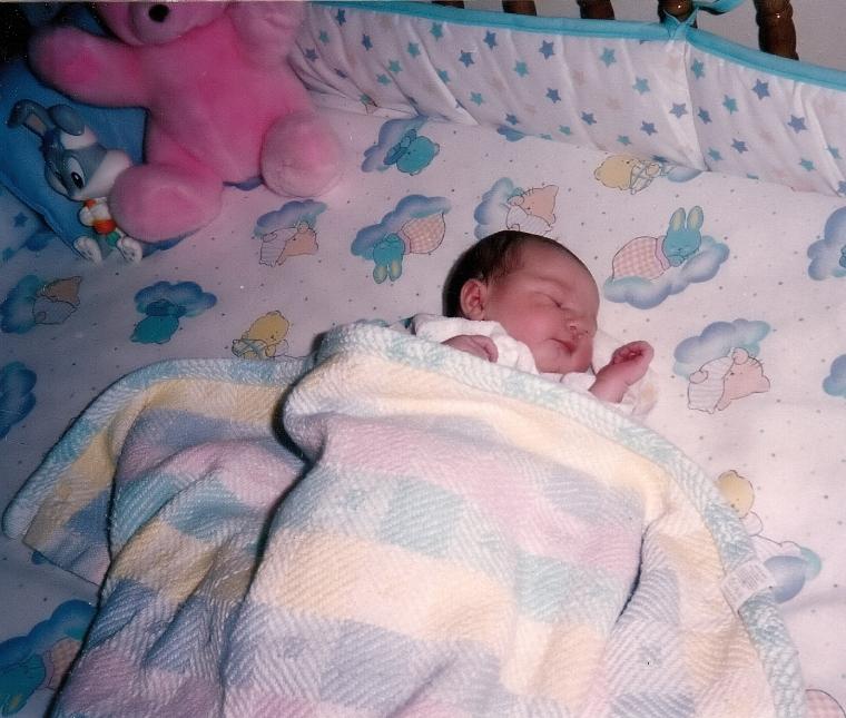 Tiny baby Ali