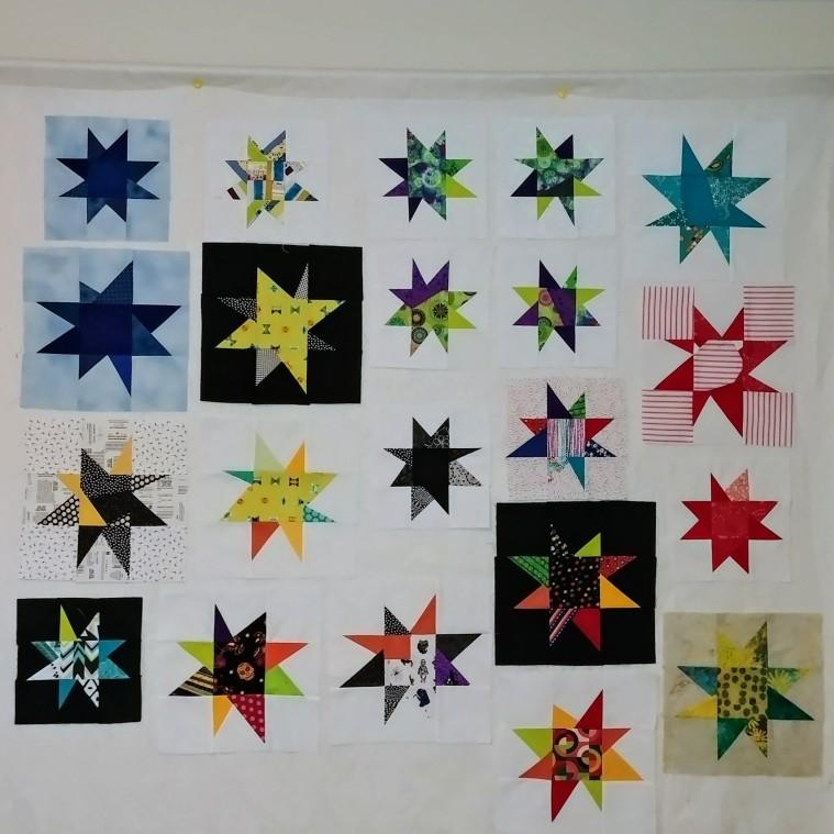 wonky stars shining