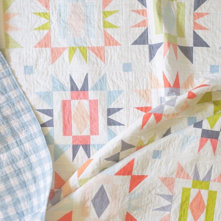 Sienna Burst Quilt Pattern...thencamejune